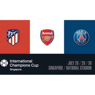 International Champions Cup: Arsenal vs PSG (cat-2)