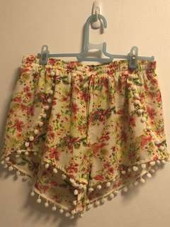 New Floral Shorts