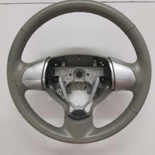 Original Mitsubishi i car leather steering wheel