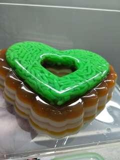 Homemade Agar Agar Chendol Cake