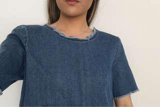 ARITZIA Wilfred Free Denim Shirt