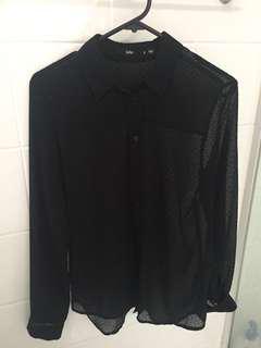 Sportsgirl Spot Shirt