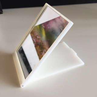 Muji compact mirror