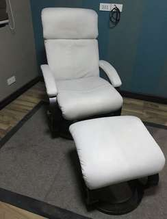 Recliner with Footstool