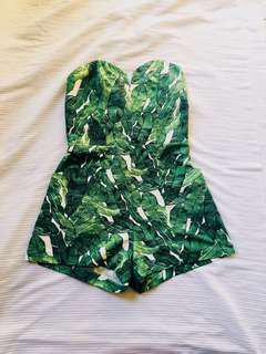 LOOKING FOR: H&M Conscious Leaf Romper Size EUR 34 ONLY