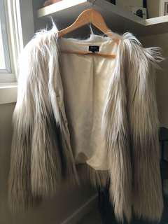 Bardot fur coat