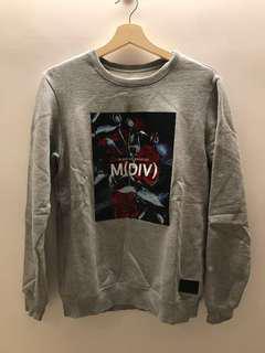 M(DIV) 長袖衛衣 S 反光材質