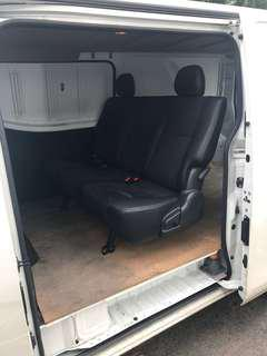 Van Car 3 Seater Leather Seat (adjustable / reclinable)