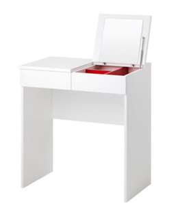 IKEA BRIMNES Dressing table, white, 27 1/2x16 1/2 ""
