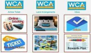 BE A WCA AFFILIATES AND OWN A TRAVEL BUSINESS