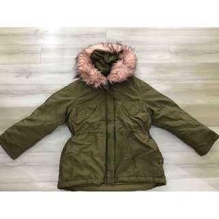 PRELOVED H&M WINTER COAT JACKET BAJU DINGIN