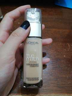 Loreal True Match Foundation (brand new) free postage