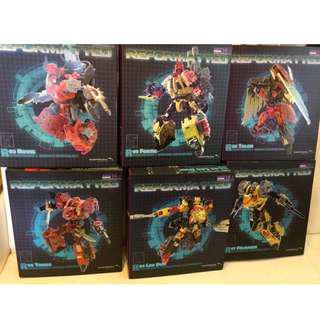 Transformers 變形金剛 MMC 霹靂星 Feral Rex Predaking