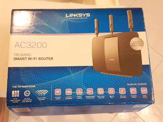 Linksys AC3200 Tri-Band Smart Wifi Router (EA 9200)