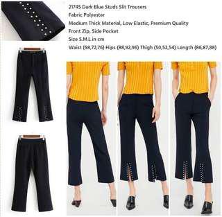 Dark blue pants / celana panjang
