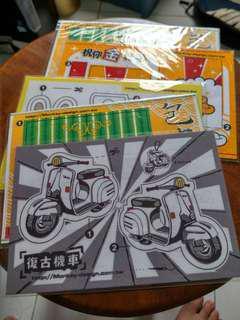 🚚 布偶明信片。(原價$40)