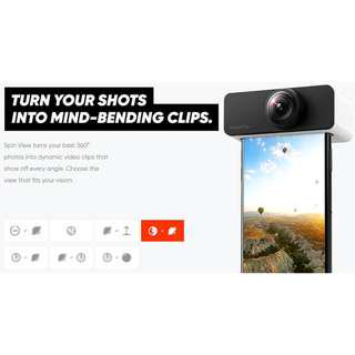 PanoClip Snap-on 360° iPhone Lens Attachment