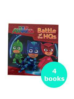 PJ Masks Set (4 books)