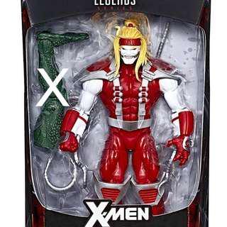 """6"""" Marvel Legends Sauron Wave Omega Red X-Men Figure, MIB No BAF"""