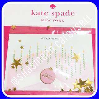 Brand new authentic Kate spade ♠️ happy birthday badge