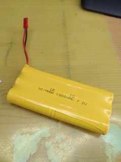 1800mah 7.2V 遙控車電池