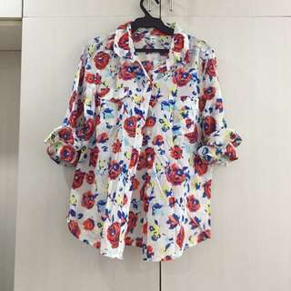New! Old Navy Floral blouse