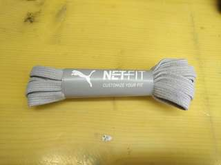Puma Netfit 鞋帶(灰色)