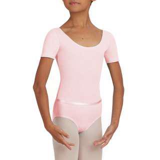 Capezio Short Sleeve Children's Leotard With Belt (RAD Pre-Primary/Primary)