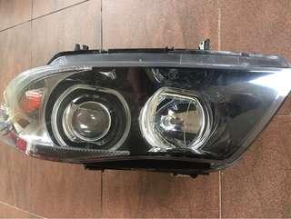 BMW e90 head light