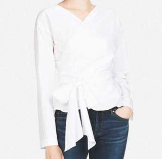 Uniqlo Wrap Blouse