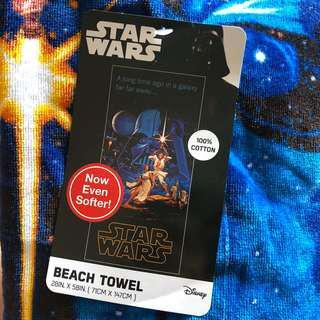 🚚 星際大戰浴巾