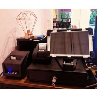 POS System Point of Sale Cloud Backup Receipt Printer Cashier Cash Drawer Kitchen Restaurant Cafe Retail Shop Barcode Scanner