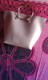 Handbag Miniso Pink