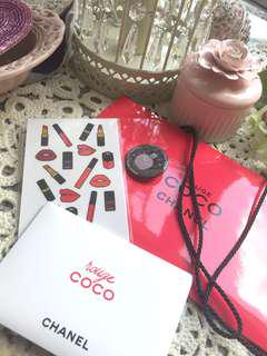 Chanel rouge coco lip gift set