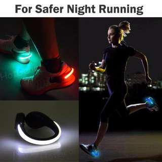 🚚 Shoe Clip Light for Running ◇ LED Safety Flash Lights for Runner to Stay Safe and Be Seen at Night or in Dark Environment / Reflective Lighting Gear for Running Jogging Walking Fishing Climbing or Biking