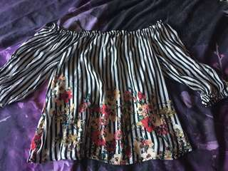 Worn once fits size 8 & 10