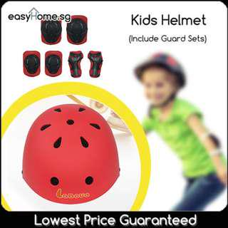 🚚 Kids Helmet Include Guard- Protective Safety Guards