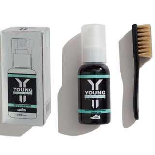 Young Americana Supply YAS Premium Shoe Cleaner- Green Tea flavor (60ml) Nike, Adidas