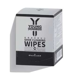 Young Americana Supply YAS Shoe Cleaner Cleaning Wipes (30pcs)Nike , adidas