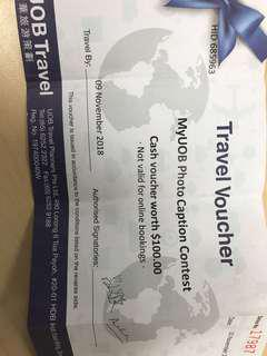 UOB Travel Voucher