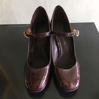 CHARLES & KEITH Heeled Mary Jane Shoes