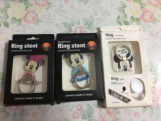 ✨買二送一 米奇老鼠 米奇 米妮 手機指環 手機扣 Ring Stent