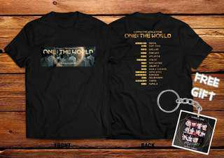 WANNA ONE WORLD TOUR TSHIRT