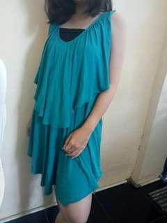 Dress/ top tosca blue
