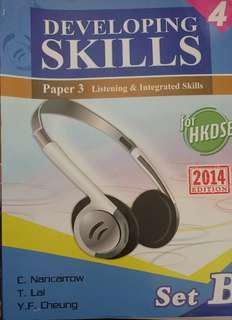 Developing skills paper 3 book 4 set B #滄海遺珠