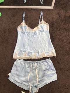 Satin cami set