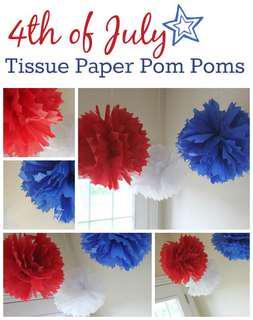 [INSTOCK] Tissue/ Paper Pompoms