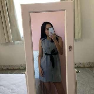 Mini grey dress