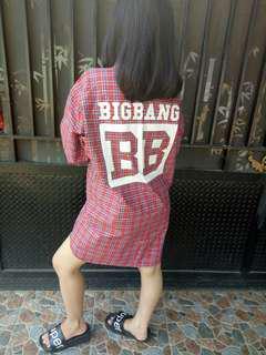 Bigbang tartan freesize