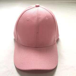 Baby Pink Baseball Cap